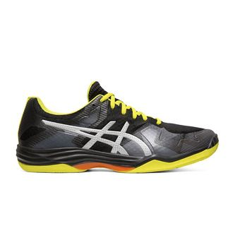 Asics GEL-TACTIC - Chaussures volley Homme black/silver