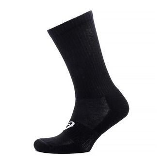 6PKK CREW SOCK PERFORMANCE BLACK Unisexe
