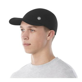 RUNNING CAP PERFORMANCE BLACK Unisexe