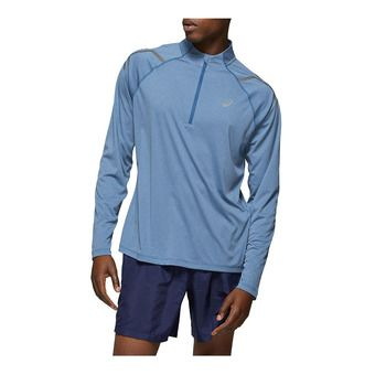 Asics ICON - Maillot Homme deep saphire heather