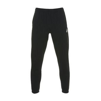 Asics SMALL LOGO - Pantalón de chándal hombre performance black