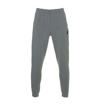 ASICS SMALL LOGO SWEAT PANT MID GREY HEATHER Homme