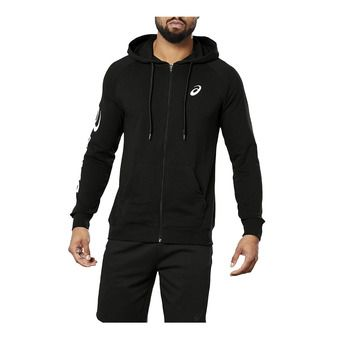 Asics BIG ASICS - Sudadera hombre performance black/brillant white