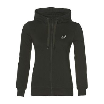 Asics CHEST LOGO - Sweat Femme performance black