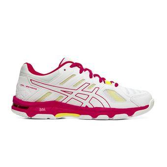Asics GEL-BEYOND 5 - Chaussures volley Femme white/laser pink