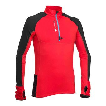 Raidlight WINTERTRAIL - Maillot Homme rouge/noir