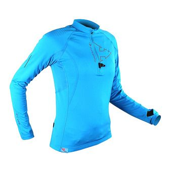 PERFORMER LS TOP W Femme ELECTRIC BLUE BLUE