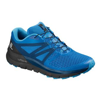 Salomon SENSE MAX 2 - Trail Shoes - Men's - indigo bunting/black/poseidon