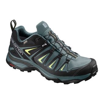 Salomon X ULTRA 3 GTX - Hiking Shoes - Women's - artic/darkest spruce/snny lime