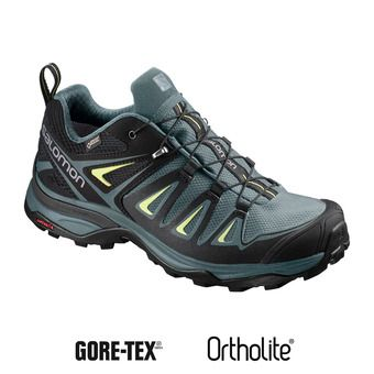 Salomon X ULTRA 3 GTX - Chaussures randonnée Femme artic/darkest spruce/snny lime