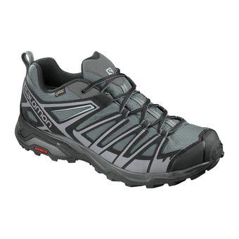 Salomon X ULTRA 3 PRIME GTX - Hiking Shoes - Men's - magnet/black/quiet shade
