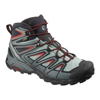 Salomon X ULTRA 3 MID GTX - Hiking Shoes - Men's - lead/stormy weather/bossa nova