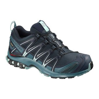Salomon XA PRO 3D GTX - Trail Shoes - Women's - navy blazer/mallard blue/trellis