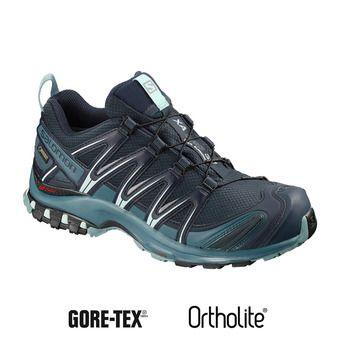 Salomon XA PRO 3D GTX - Chaussures trail Femme navy blazer/mallard blue/trellis