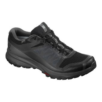 Salomon XA DISCOVERY GTX - Trail Shoes - Men's - black/ebony/black
