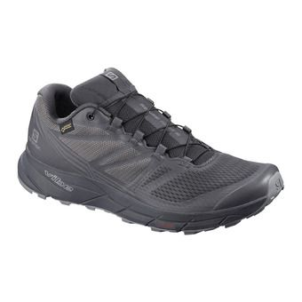 Salomon SENSE RIDE GTX NOCTURNE - Chaussures trail Homme ebony/quiet shade/black