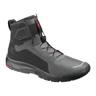 Salomon T-MAX WR - Après-Ski Boots - Men's - black/black/magnet