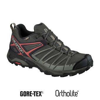 Salomon X ULTRA 3 PRIME GTX - Chaussures randonnée Homme castor gray/shadow/bossa nova