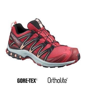 Salomon XA PRO 3D GTX - Zapatillas de trail mujer deep claret/syrah/coral almond