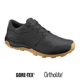 Salomon OUTBOUND GTX - Chaussures randonnée Homme black/black/gum1a