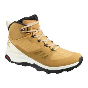 Salomon OUTSNAP CSWP - Après-Ski Boots - Men's - bistre/vanilla/black