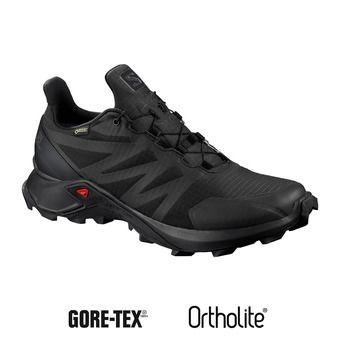 Salomon SUPERCROSS GTX - Zapatillas de trail mujer black/black/black
