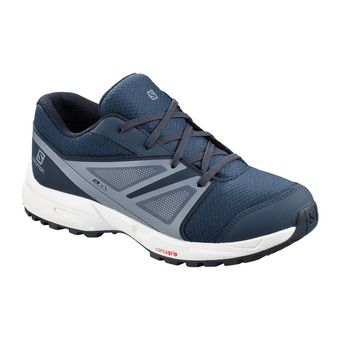 Salomon SENSE CSWP - Hiking Shoes - Junior sargasso sea/navy blazer/flint