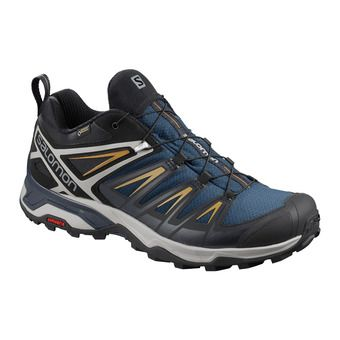 Salomon X ULTRA 3 GTX - Hiking Shoes - Men's - sargasso sea/dark sapphire/bistre