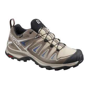 Salomon X ULTRA 3 GTX - Hiking Shoes - Women's - vintage khaki/bungee cord/crown blue
