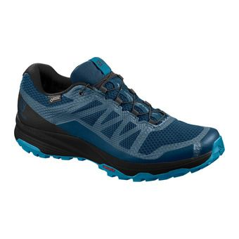 Salomon XA DISCOVERY GTX - Trail Shoes - Men's - poseidon/black/fjord blue
