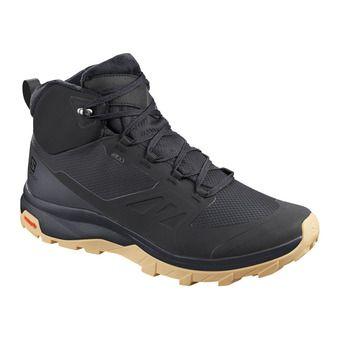Salomon OUTSNAP CSWP - Après-Ski Boots - Men's - black/ebony/gum1a