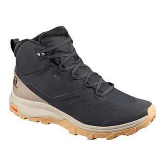 Salomon OUTSNAP CSWP - Après-Ski Boots - Women's - black/vintage khaki/gum1a