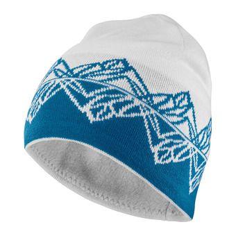 GRAPHIC BEANIE-White-FJORD BLU Unisexe White