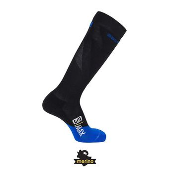 Salomon S/MAX - Calcetines black/surf web