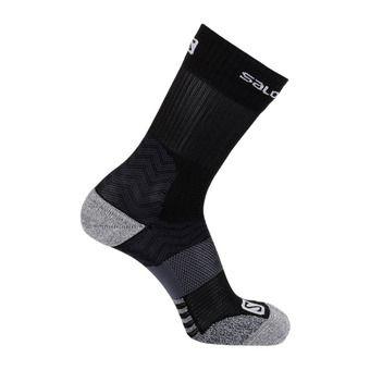 Salomon OUTPATH MID - Socks - black/forged iron