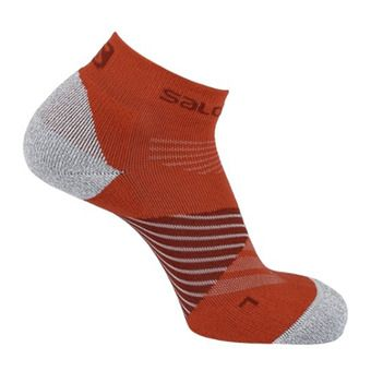 Salomon SPEED PRO - Socks - biking re/fiery red