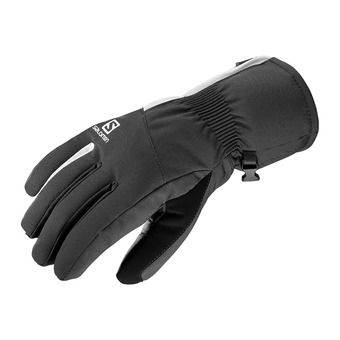 Salomon PROPELLER DRY - Gloves - Women's - black/wht