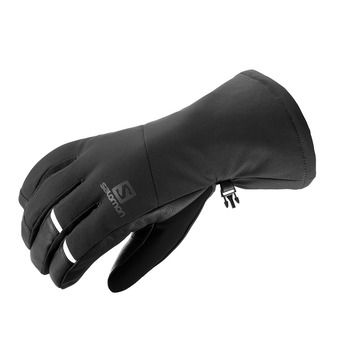 Salomon PROPELLER LONG - Gloves - Men's - black/black