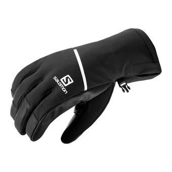 Salomon PROPELLER ONE - Gloves - Men's - black/black