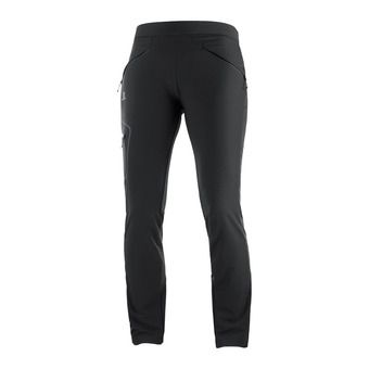 Salomon WAYFARER AS TAPERED - Pantalon Femme black
