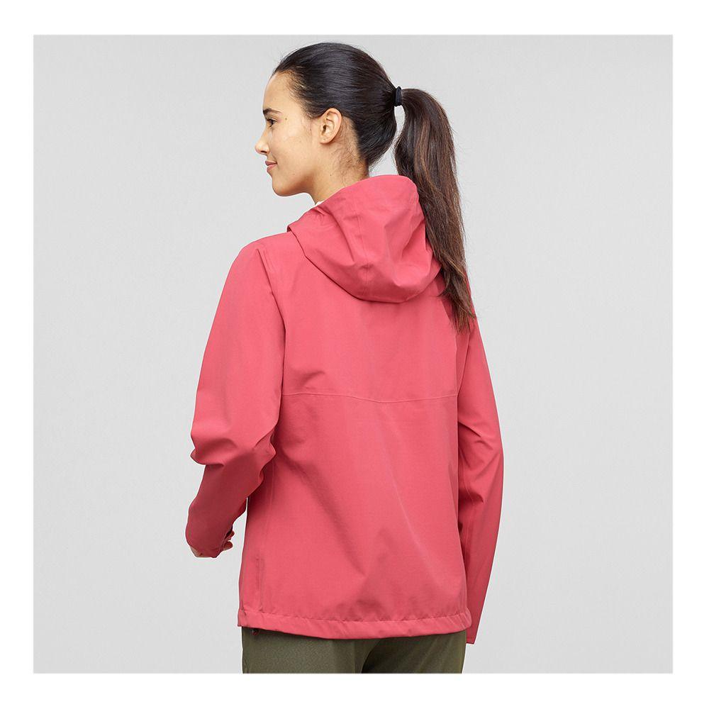 Salomon LA COTE FLEX 2.5L Jacket Women's garnet pink