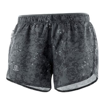 Salomon AGILE - Shorts - Women's - ebony/black/ao