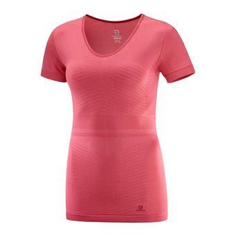 Salomon ELEVATE MOVE'ON - Base Layer - Women's - garnet pink