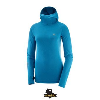 Salomon LIGHTNING PRO - Sweat Femme lyons blue