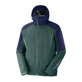 Salomon OUTLINE - Veste Homme green gab/night sky