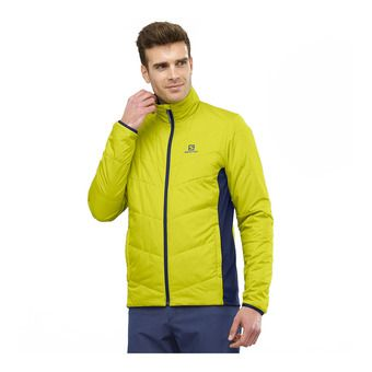 Salomon DRIFTER MID - Veste réversible Homme citronell/night sky