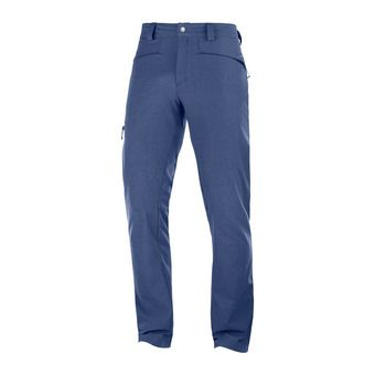 Salomon WAYFARER AS STRAIGHT - Pantalon Homme navy/heather