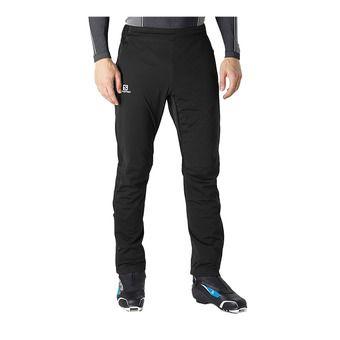 Salomon RS SOFTSHELL - Pantalón hombre black