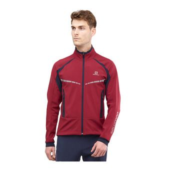 Salomon RS WARM SOFTSHELL - Veste Homme biking re/night sky