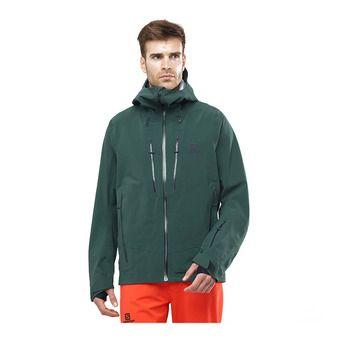 Salomon ICESTAR - Veste ski Homme green gab